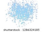 light blue vector pattern with... | Shutterstock .eps vector #1286324185