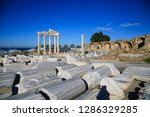 remains of the ancient city | Shutterstock . vector #1286329285