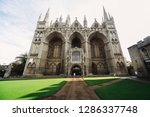 View Of Peterborough Cathedral  ...