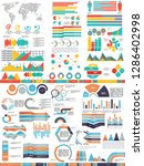 set of abstract infographics... | Shutterstock .eps vector #1286402998
