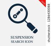 suspension search icon.... | Shutterstock .eps vector #1286430088