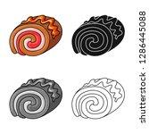 vector design of confectionery... | Shutterstock .eps vector #1286445088