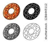 vector design of confectionery... | Shutterstock .eps vector #1286445112