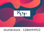 dynamic colorful background... | Shutterstock .eps vector #1286454922