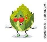 in love cartoon green roman... | Shutterstock .eps vector #1286487925