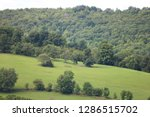 mountain and green pastures...   Shutterstock . vector #1286515702