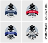 american football club logo...   Shutterstock .eps vector #1286525188