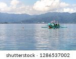 dec 23 2018 bangka boat moving... | Shutterstock . vector #1286537002