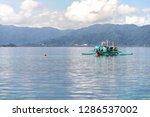 dec 23 2018 bangka boat moving...   Shutterstock . vector #1286537002