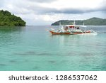dec 23 2018 bangka boat moving... | Shutterstock . vector #1286537062