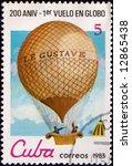 old postage stamp   Shutterstock . vector #12865438