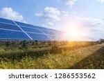 solar panel  alternative... | Shutterstock . vector #1286553562