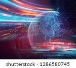 blur and defocus earth...   Shutterstock . vector #1286580745