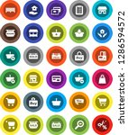 white solid icon set  house...   Shutterstock .eps vector #1286594572
