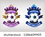 modern football club logo . eps ... | Shutterstock .eps vector #1286609905