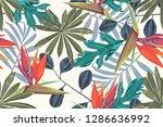 hi quality fashion design.... | Shutterstock . vector #1286636992