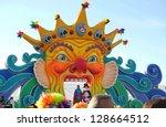 viareggio  italy   10 february... | Shutterstock . vector #128664512
