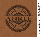 ankle wood signboards | Shutterstock .eps vector #1286646295