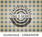 time is money arabesque emblem... | Shutterstock .eps vector #1286646448