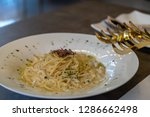 white source spaghetti... | Shutterstock . vector #1286662498