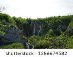 waterfalls at plitvice lakes... | Shutterstock . vector #1286674582