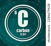 carbon chemical element. sign...   Shutterstock .eps vector #1286679628