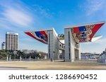 seoul  south korea   january 01 ... | Shutterstock . vector #1286690452
