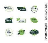 vector set of design elements ... | Shutterstock .eps vector #1286692138