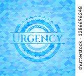 urgency light blue emblem with...   Shutterstock .eps vector #1286696248