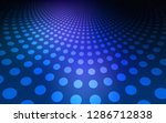 dark blue vector cover with... | Shutterstock .eps vector #1286712838