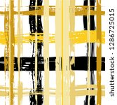 vector hand drawn paint stripe... | Shutterstock .eps vector #1286725015