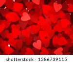 valentine's day design  vector... | Shutterstock .eps vector #1286739115