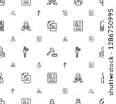 occupation icons pattern... | Shutterstock .eps vector #1286750995