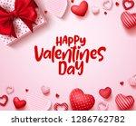 valentines day vector... | Shutterstock .eps vector #1286762782