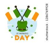 st. patrick's day illustration... | Shutterstock .eps vector #1286769928