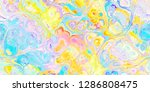 closeup of colorful abstract...   Shutterstock . vector #1286808475