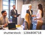 creative business team working... | Shutterstock . vector #1286808718