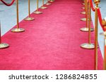 way to success on the red... | Shutterstock . vector #1286824855
