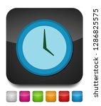 clock icon   vector clock... | Shutterstock .eps vector #1286825575
