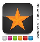 vector star symbol  rating or... | Shutterstock .eps vector #1286825632