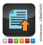 vector upload file icon   file... | Shutterstock .eps vector #1286825692