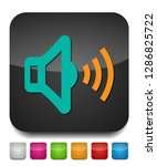 speaker volume icon   audio... | Shutterstock .eps vector #1286825722
