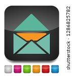message icon  envelope... | Shutterstock .eps vector #1286825782