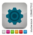settings icon  gears set ... | Shutterstock .eps vector #1286827312