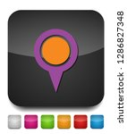 map pointer  map pin  map icon  ... | Shutterstock .eps vector #1286827348