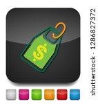 vector dollar tag sign  money... | Shutterstock .eps vector #1286827372