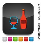 alcoholic drinks  wine alcohol... | Shutterstock .eps vector #1286827375