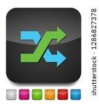shuffling icon  change order ... | Shutterstock .eps vector #1286827378