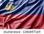 waving detailed national... | Shutterstock . vector #1286857165
