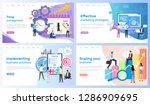 time management  marketing... | Shutterstock .eps vector #1286909695